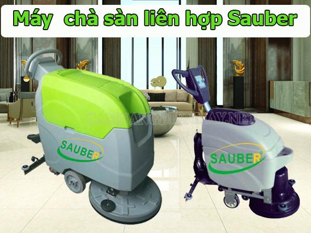 Các máy chà sàn của thương hiệu Sauber có khả năng làm sạch tối ưu