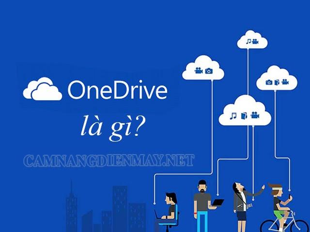 Tìm hiểu One Drive là gì?