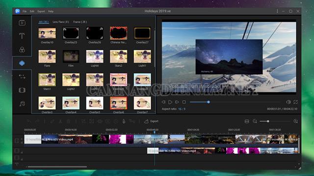 EaseUS Video Editor - Phần mềm cắt ghép video chuyên nghiệp