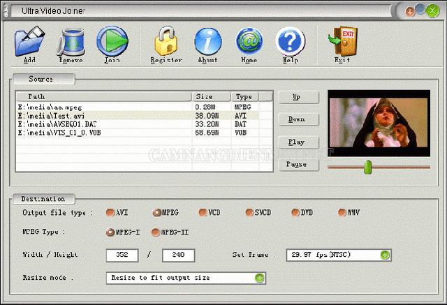 Ultra Video Joiner là một phần mềm làm video trên máy tính tốt và chất lượng