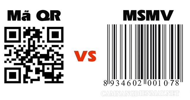Sự khác nhau giữa mã vạch truyền thống và QR code là gì?