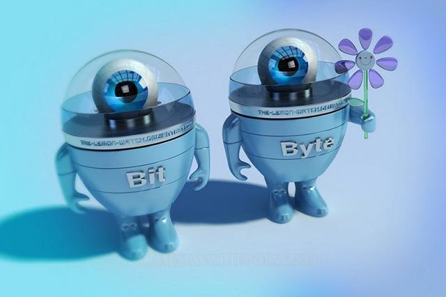 Sự khác biệt giữa Bit và Byte