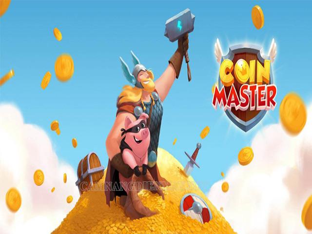 Game Coin Master có tính lượt quay Spin