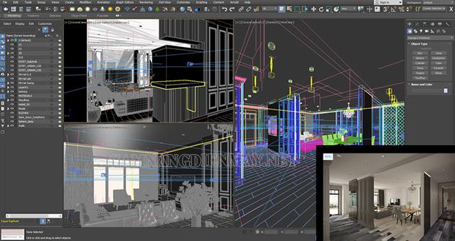 Ưu điểm nổi bật trong việc ứng dụng phần mềm Autodesk 3Ds Max