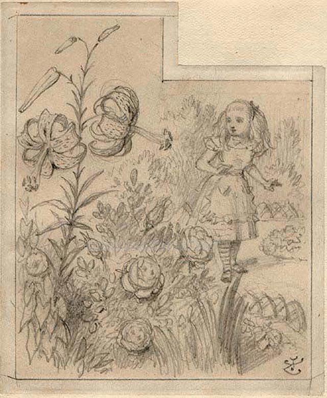 Nổi tiếng với các bức họa về Alice