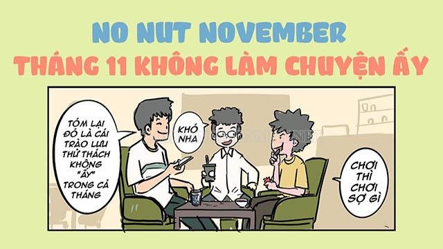 Trào lưu No Nut November đã phổ biến trên toàn thế giới