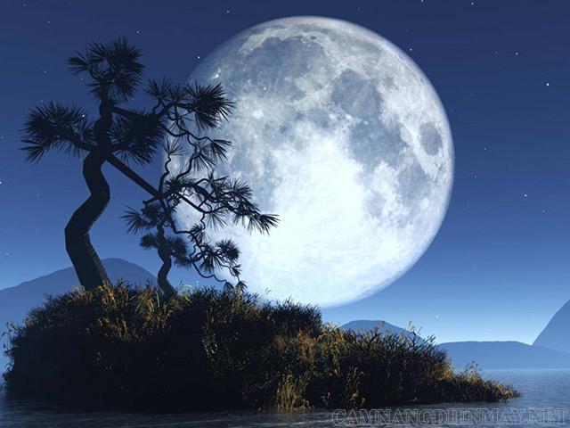 Mặt Trăng có mối liên hệ mật thiết với Trái Đất
