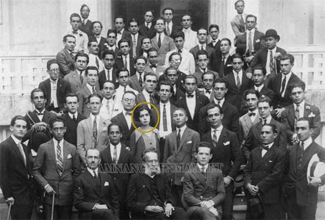 Nise-da-Sliveira là nữ sinh duy nhất tại khoa được tốt nghiệp đại học y Bahia