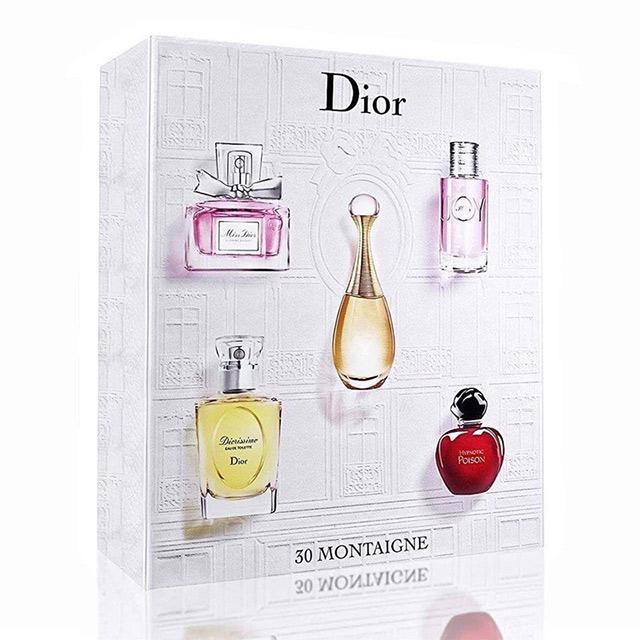 Thương hiệu nước hoa Dior với bộ sưu tập độc đáo