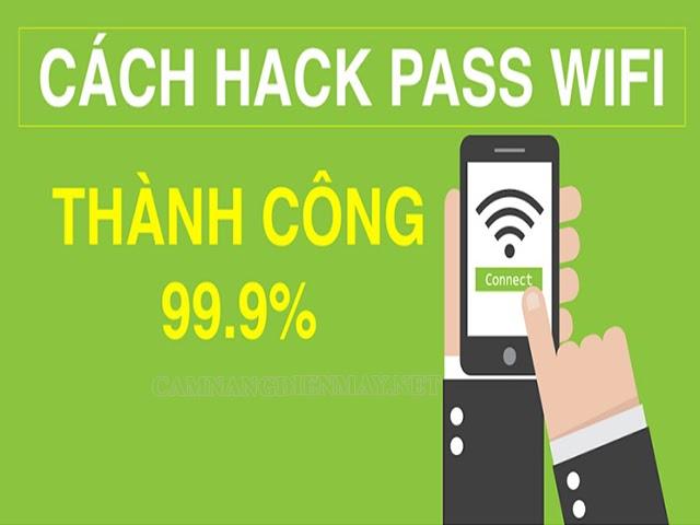Cách hack wifi đơn giản