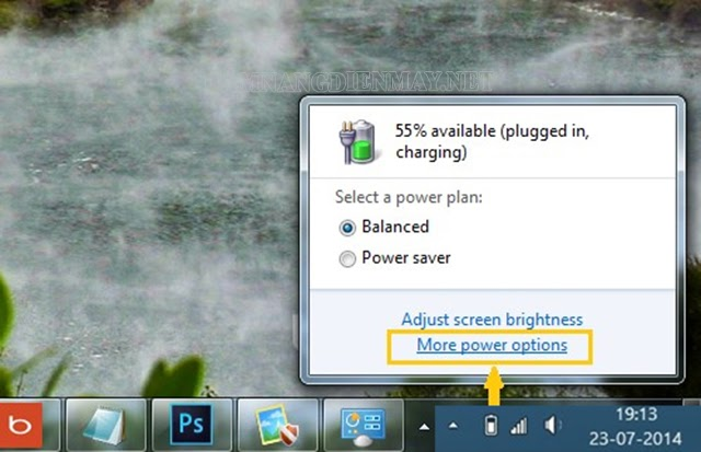 Trực tiếp can thiệp tại Windows để hạ nhiệt laptop