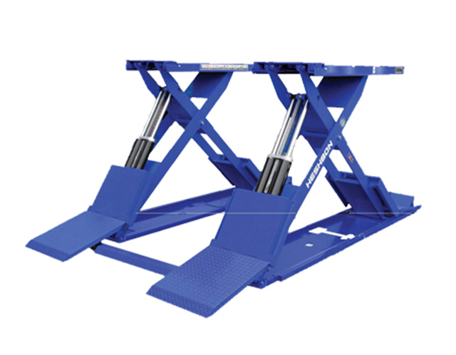 Cầu nâng cắt kéo 3 tấn Heshbon HL 32X có thiết kế độc đáo