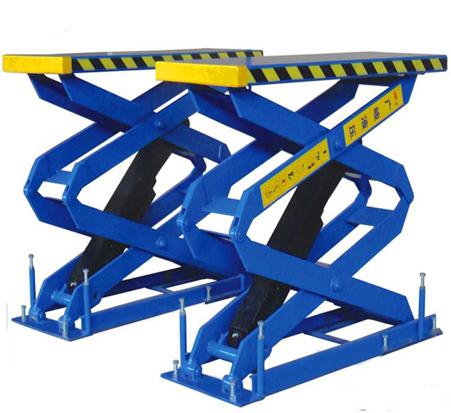 Tính năng sử dụng của cầu nâng cắt kéo