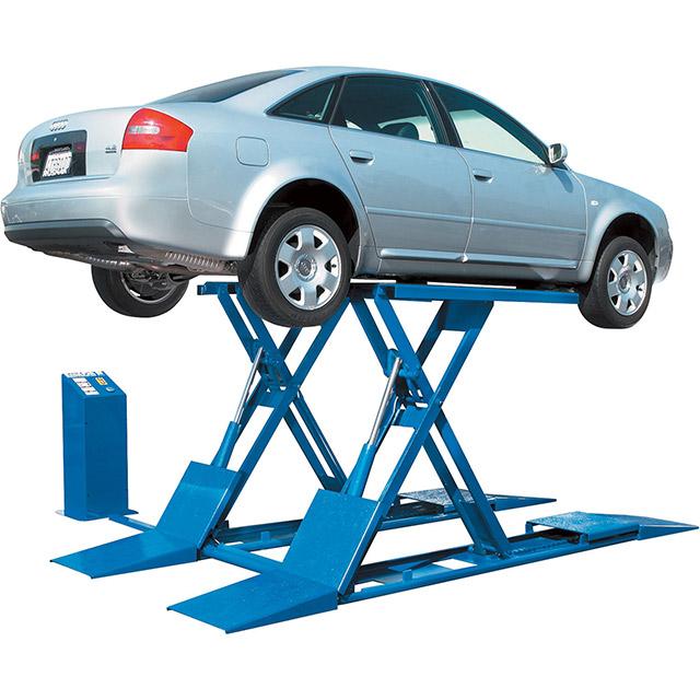 Nguyên lý vận hành cầu nâng cắt kéo
