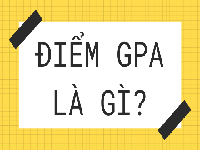 Thông tin chi tiết về điểm GPA