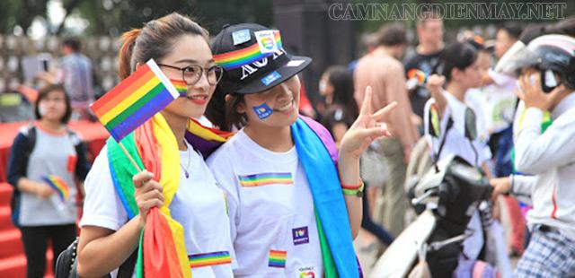 Một trong các sự kiện do cộng đồng LGBT tổ chức được nhiều bạn trẻ ủng hộ