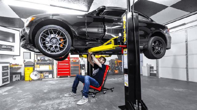 Cách sử dụng cầu nâng ô tô hiệu quả