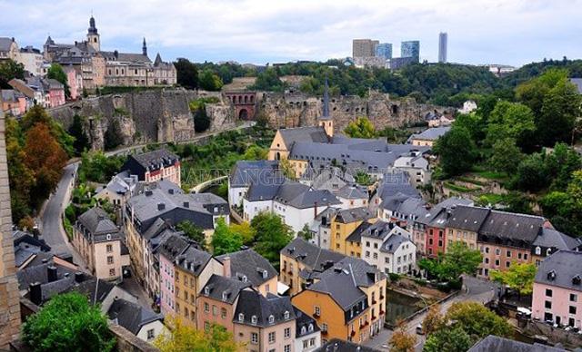 Luxembourg - nước có nền kinh tế khỏe mạnh nhất