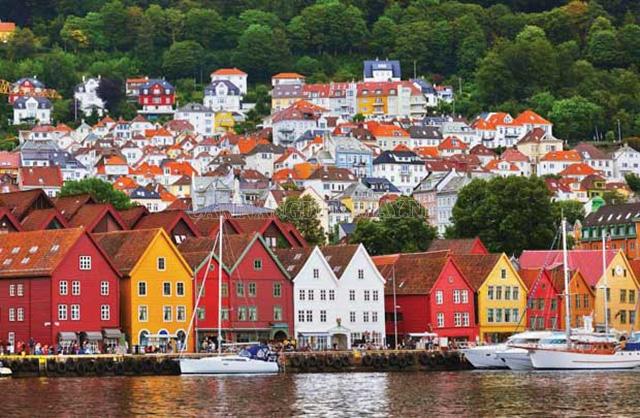 Na Uy giàu có với nguồn tài nguyên phong phú
