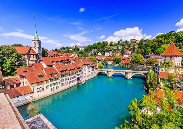 Đất nước Thụy Sĩ xinh đẹp và giàu thứ 9 thế giới