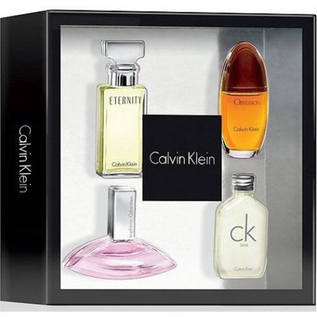 Bộ sưu tập nước hoa của thương hiệu Calvin Klein