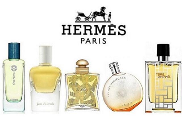 Nổi bật về hương nước hoa quyến rũ là dòng sản phẩm đến từ Hermes