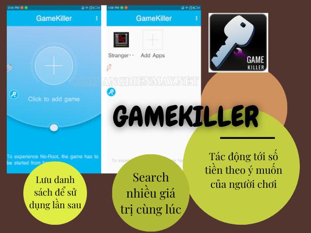 App hack game Android - Gamekiller