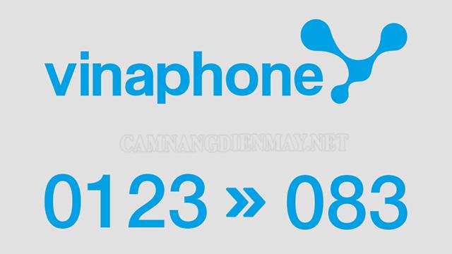 Đầu số 083 là một đầu số chuyển đổi mới của Vinaphone