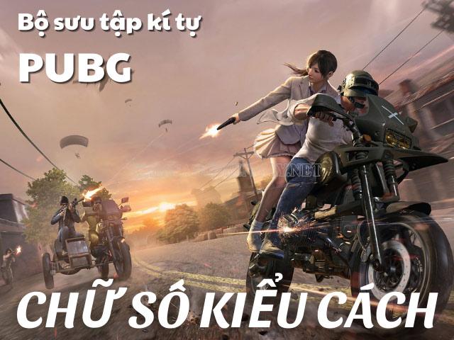 kí tự PUBG mobile